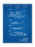 Howard Hughes Airplane Patent Kunst