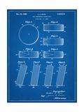 Hockey Puck Patent Poster