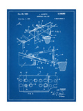 Basketball Goal With Backboard Patent 1960 Posters
