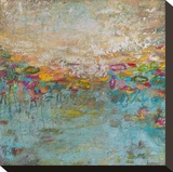 Moments Stretched Canvas Print by Amy Donaldson
