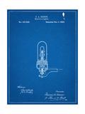 Thomas Edison Light Bulb Patent Art
