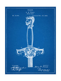 Sword Patent Hilt Prints