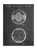 Soccer Ball Patent Pósters