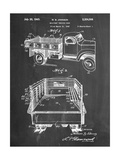 Military Vehicle Truck Patent Pósters