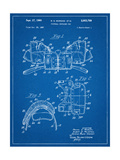 Football Shoulder Pads Patent Arte