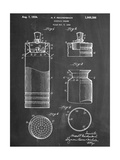 Cocktail Shaker Construction Patent Posters