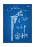 Colt Firearm Patent 1839 Poster