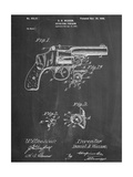 Wesson Pistol Patent Poster