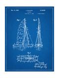 Sailboat Patent Print