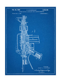 M-16 Rifle Patent Posters
