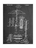 Vintage Beach Umbrella 1937 Patent Posters