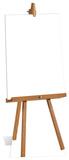 Small Blank Sign Standup Poster Figura de cartón