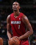 Mar 29, 2014, Miami Heat vs Milwaukee Bucks - Chris Bosh Photographie par Gary Dineen