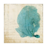 Blue Coral II Print by Anna Polanski