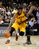 Apr 5, 2014, Charlotte Bobcats vs Cleveland Cavaliers - Kyrie Irving, Michael Kidd-Gilchrist Photo by David Liam Kyle