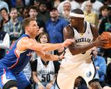 Feb 21, 2014, Los Angeles Clippers vs Memphis Grizzlies - Zach Randolph Fotografia por Joe Murphy