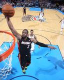 Feb 20, 2014, Miami Heat vs Oklahoma City Thunder - Dwayne Wade Photo by Layne Murdoch
