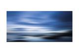 Blau Premium-Fotodruck von Andrew Michaels