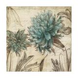 Blue Botanical I Reproduction giclée Premium par Anna Polanski