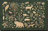 The Northern Forests Stampa su tela di Clara Wells