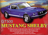 Mustang Shelby Tin Sign