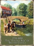 British Waterways Blechschild von Kevin Walsh