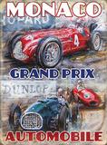 Großer Preis von Monaco Blechschild