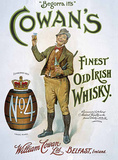 Cowan's Irish Whisky Carteles metálicos