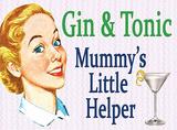 Gin & Tonic Tin Sign