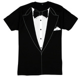 Tuxedo Costume Tee (slim fit) T-Shirts