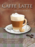 Café Latte Carteles metálicos