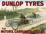 Dunlop Tyres Carteles metálicos