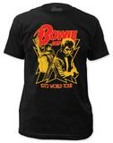 David Bowie - 1972 World Tour (slim fit) Vêtement