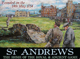 St. Andrews Founded on the 14th May 1754 Carteles metálicos