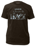 Genesis - Tricks of the Tail (slim fit) T-paita