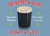 Murphy's Bar Blechschild von Martin Wiscombe