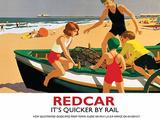 Redcar Blechschild