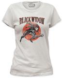 Women's: Black Widow - Widow Run Tシャツ