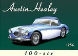 Austin Healey Carteles metálicos