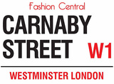 Carnaby Street Blechschild