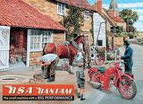 BSA Bantam Tin Sign by Trevor Mitchell