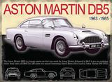 Aston Martin DB5 Carteles metálicos
