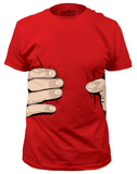 Giant Hand Costume Tee (slim fit) T-paidat