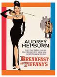 Audrey Hepburn - Tiffany's Blechschild