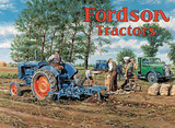 Fordson Tractors Tin Sign by Trevor Mitchell