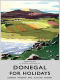 Donegal Holidays Tin Sign