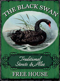 The Black Swan Blikskilt