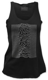 Juniors Tank Top: Joy Division - Unknown Pleasures Ermeløse toppen for damer
