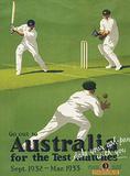 Australia Cricket Carteles metálicos