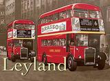 Leyland Bus Carteles metálicos